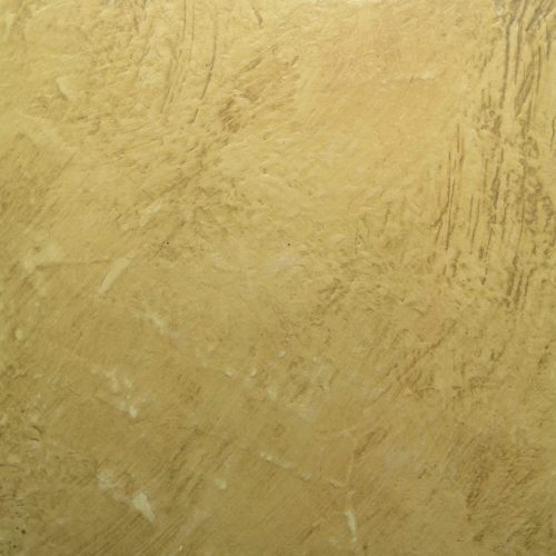 Rustic Plaster Effect In Gold