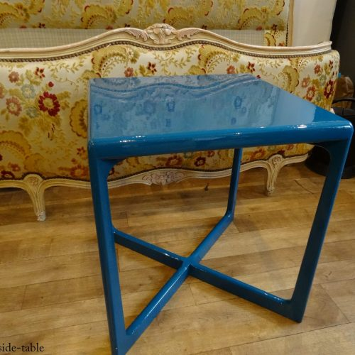 Blue Lacquered Table