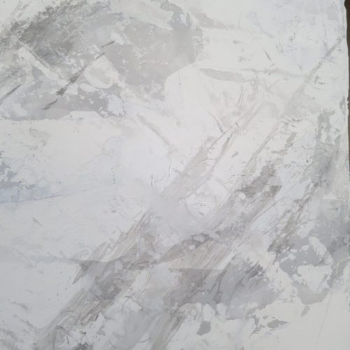 Brecciated White Grey Marble Effect