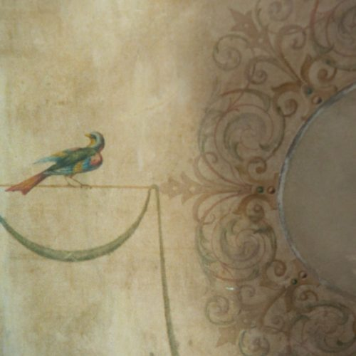 Restoration Of Italianate Mural By Specialist Decorator