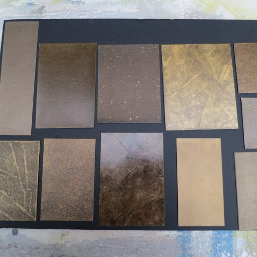 Faux Bronze Finishes From Specialist Decorating Portfolio