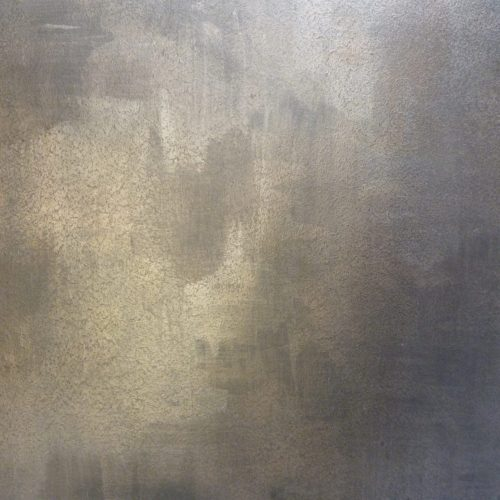 Detail Of Metallic Painted Wall Treatment For Modern Interior