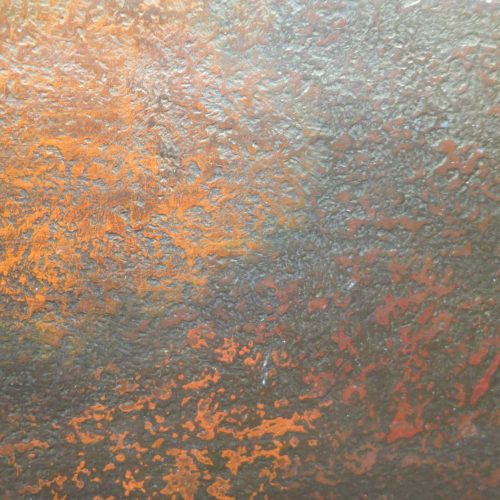 Faux Rust Textured Wall Finish