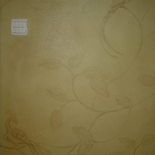 Faux Chinoiserie Wallpaper - Belgravia