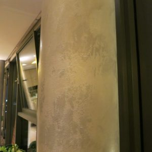 Faux Polished Concrete Column