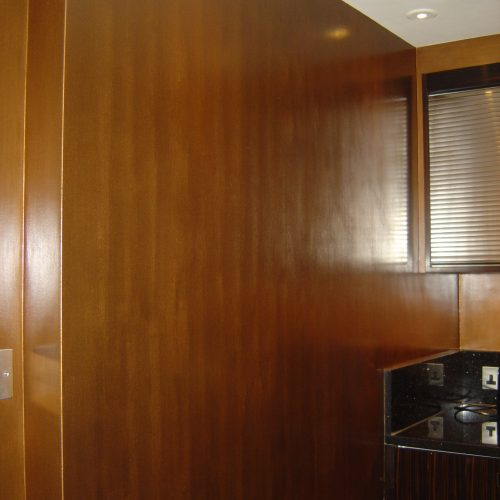 Faux Copper Effect Walls By Specialist Decorator
