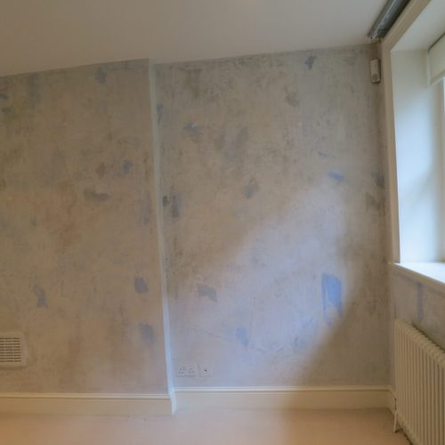 Antique Faux Plaster Effect, Bedford Square Residence