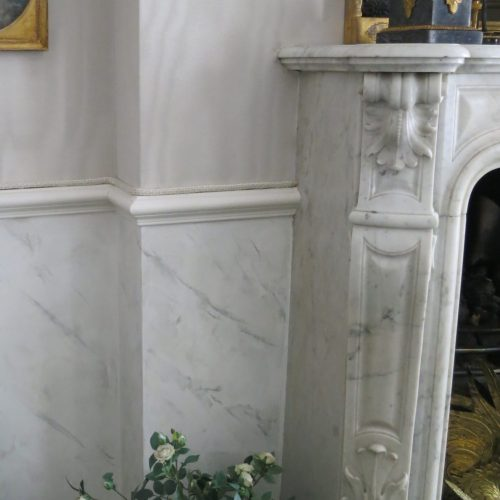 Faux Marble Or Marbling For Belgravia Residence