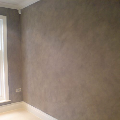 Faux Suede Wall Treatment From Our Range Of Fresco Finishes