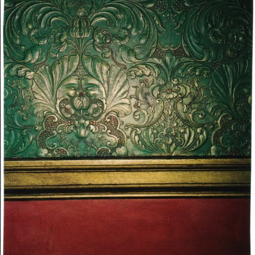 Painted And Gilded Lincrusta At The Garrick Club
