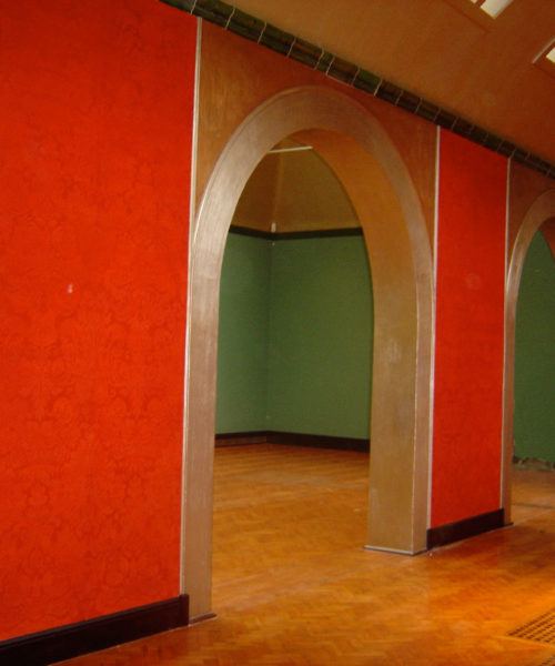 Watts Gallery - Heritage Lottery Restoration By Nicola Thwaites Specialist Decorating