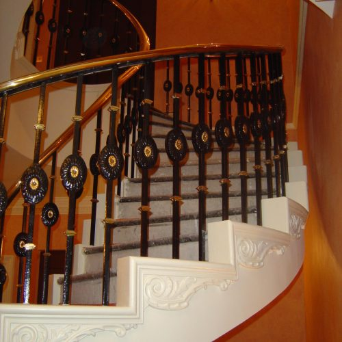 Apricot Colour Wash For Grand Staircase