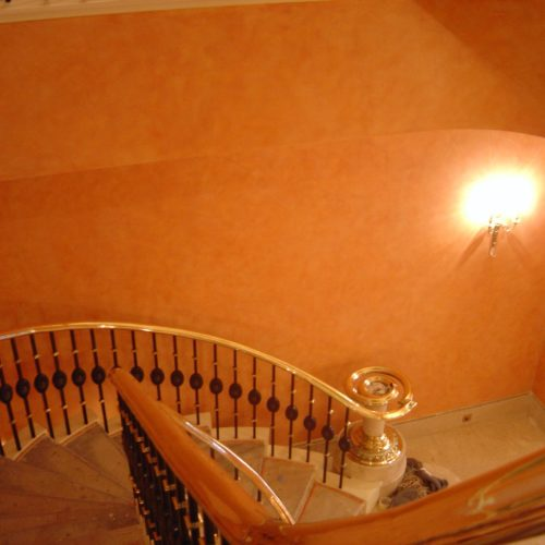 Colour Wash For Grand Staircase, Ambassadorial Residence