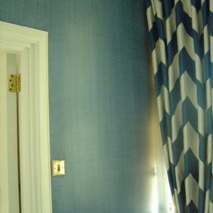 Denim Paint Effect For Boy's Room