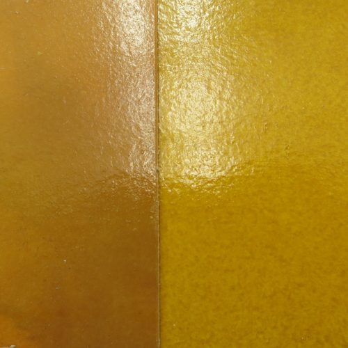 Golden Faux Lacquer Samples