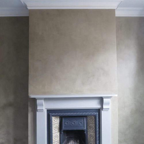 Colour Washes: Painted Faux Fresco Plaster Effect For Walls