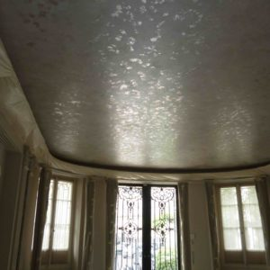 Stardust Paint Effect On Ceiling, Paris